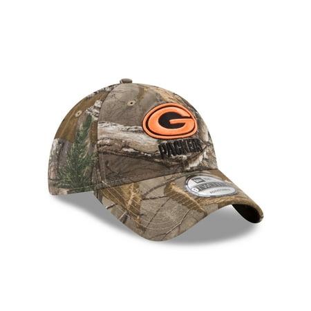 Green Bay Packers 9Twenty Realtree Strap Back Hat