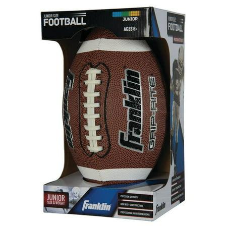 Polyester Mens Football - Franklin Sports Junior Grip-Rite PVC Football