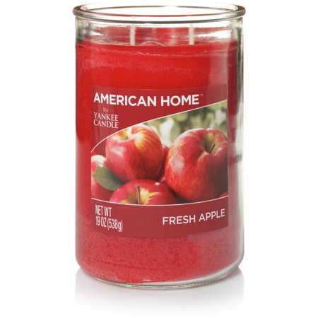 American Home By Yankee Candle Fresh Apple Candle, 19 oz Large 2-Wick Tumbler