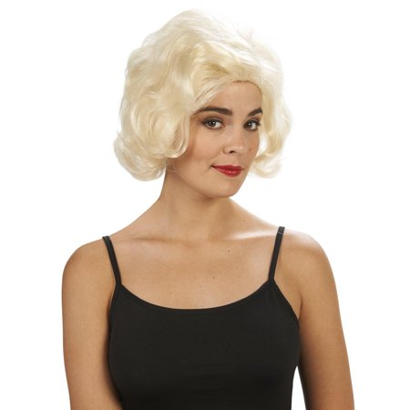 Blonde Marilyn Adult Wig - Marilyn Halloween