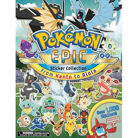Pokémon Epic Sticker Collection: From Kanto to