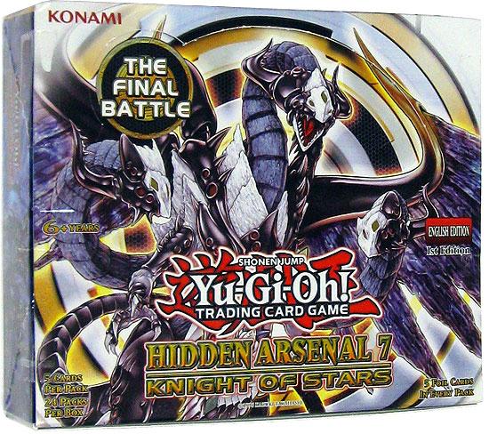 Yugioh Hidden Arsenal 7 Knight Of Stars Booster Box Walmart Com Walmart Com