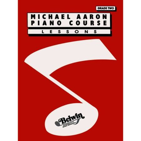 Michael Aaron Piano Course: Lessons Grade 2 by
