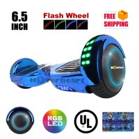 Product Image Ul2272 Certified Bluetooth Top Led6 5 Hoverboard Two Wheel Self Balancing Scooter Chrome Blue