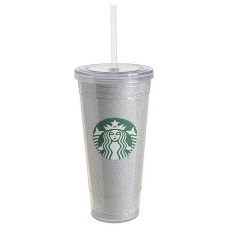 Starbucks 20 Ounce Plastic To Go Tumbler Silver