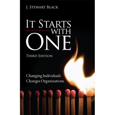 It Starts with One : Changing Individuals Changes