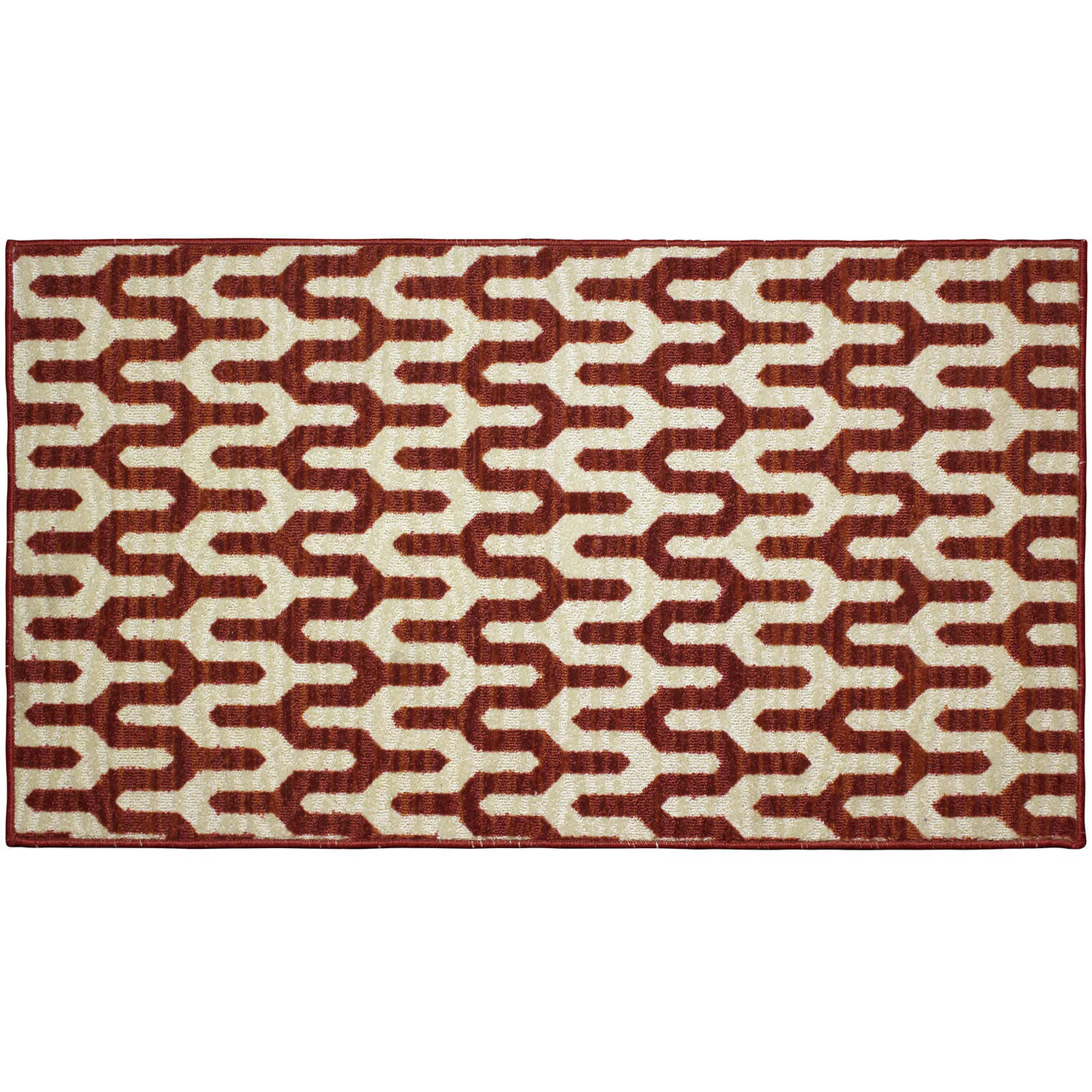Structures Mila Textured Printed Accent Rug by Generic