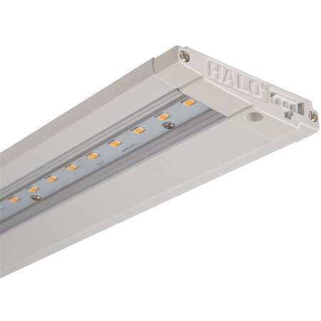 COOPER - HU1018D930PR Halo 7.3W 18 In LED Direct Wire/Plug-In Under-Cabinet Kit 3000K 427 Lum Dim Wht