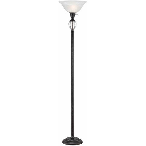 Lite Source Dezirae 1 Light Torch Floor Lamp