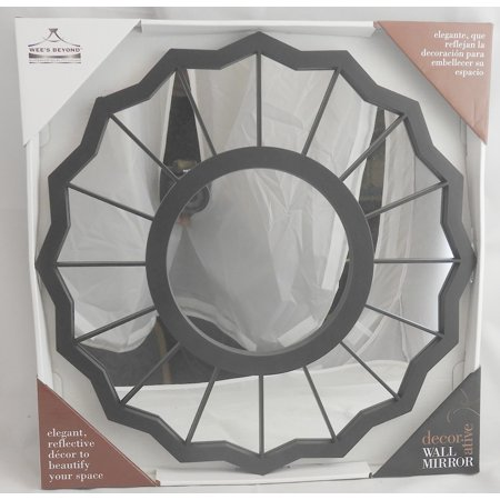 Sunburst Shaped Decorative Wall Mirror 15