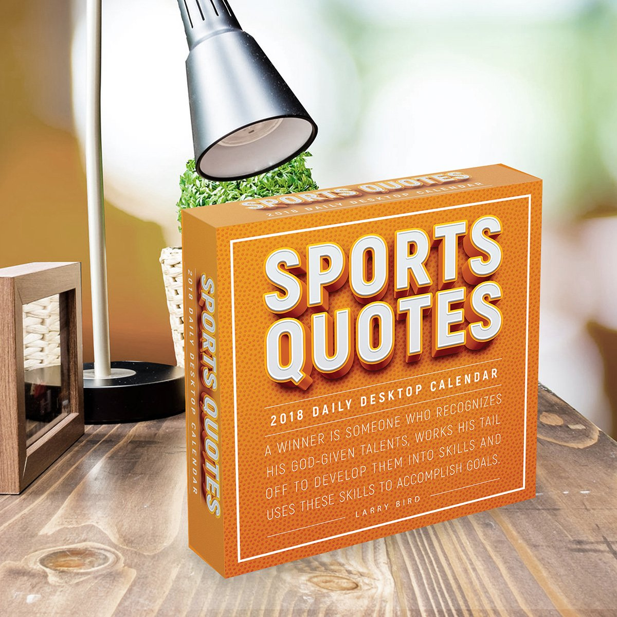 2018 Sports Quotes Daily Desktop Calendar by TF Publishing