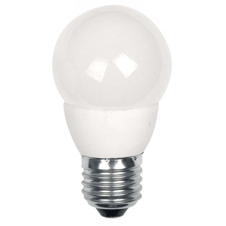 - TCP LED4E26G1627KF Single 4 Watt Frosted Dimmable G16 Medium (E26) LED Bulb - 2700K