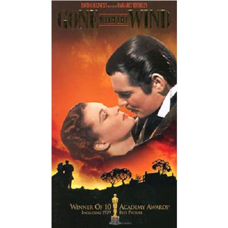 Gone With the Wind (VHS, 1990, 2-Tape Set, Deluxe Edition) - Halloween Vhs Box Set