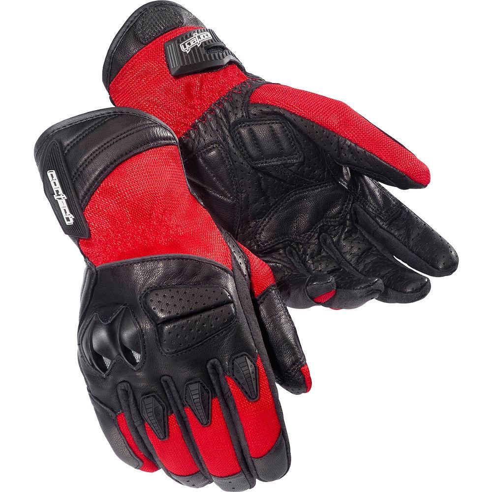 Cortech GX Air 3 Textile Gloves Red