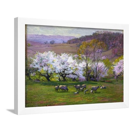 Blossom Time Framed Print Wall Art By Edward Henry Potthast (Time Blossoms)