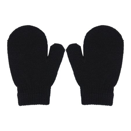 Baby Toddler Mittens Gloves Boys Girls Solid Winter Kids Warm Gloves 7  Colors   Walmart Canada