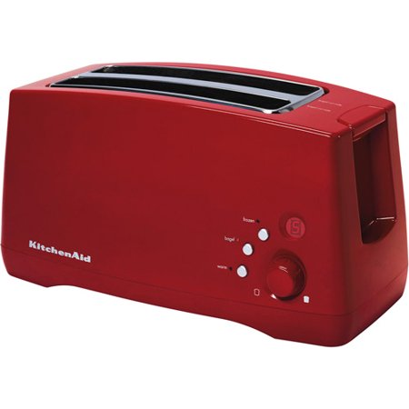 empire slot kitchenaid slice with kitchen red amazon dp toaster dining high lever com lift