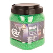 Colt .12 Airsoft BB Ammo, 6mm, 10000 Count