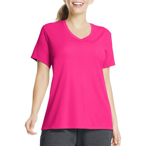 Just My Size Women's Plus Size Cool DRI Performance V neck by Just My Size