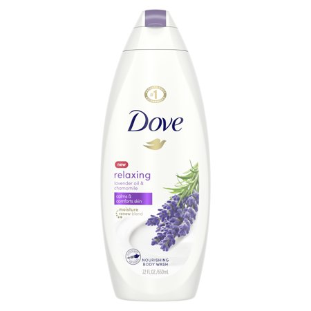 Dove Lavender Oil and Chamomile Body Wash, 22 oz