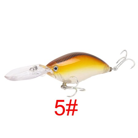 11cm Crank bait Hard Plastic Fishing Lures Wobbler Freshwater Bait thumbnail