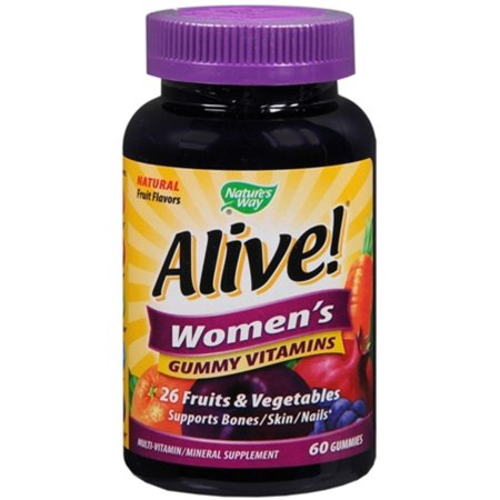 Alive  Womens Gummy Vitamins  60 Count