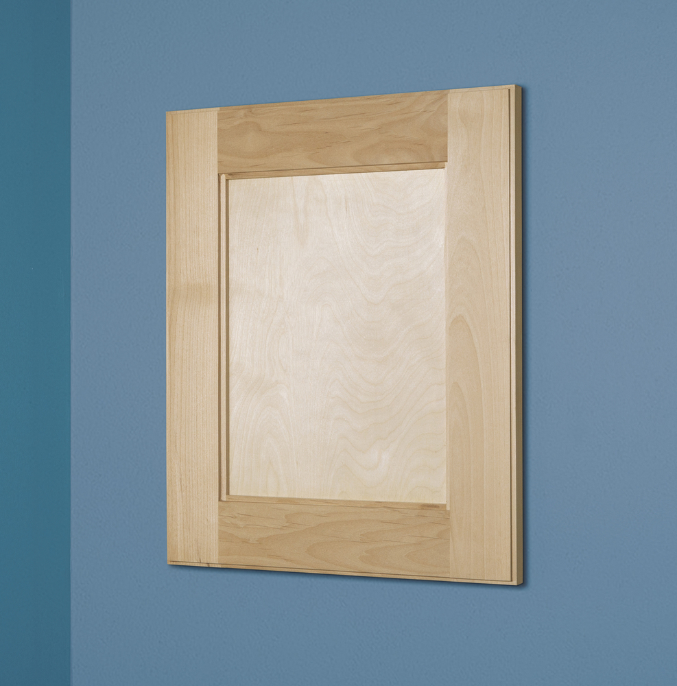 Genial 14x18 Unfinished Shaker Style Recessed Medicine Cabinet With No Mirror    Walmart.com