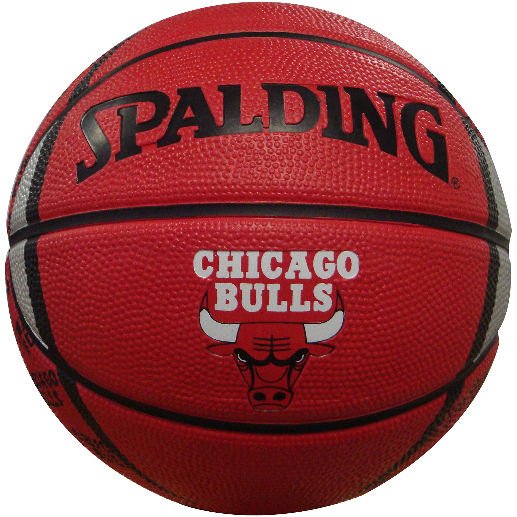 "Spalding NBA 7"" Mini Basketball, Chicago Bulls"