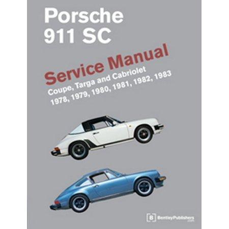Porsche 911 Sc Service Manual 1978  1979  1980  1981  1982  1983  Coupe  Targa And Cabriolet