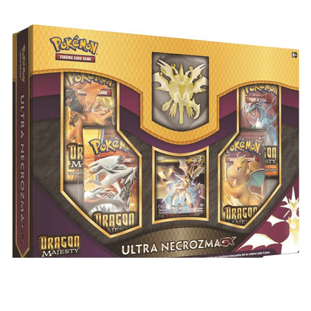 Pokemon TCG: Dragon Majesty Figure Collection Ultra Necrozma Gx Box