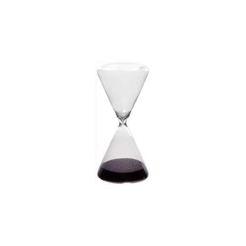 Home Essentials 4551 8 inch Triangle Black Sand Timer