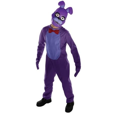 Fnaf Bonnie Halloween Costume (Five Nights at Freddy's Bonnie Tweens)