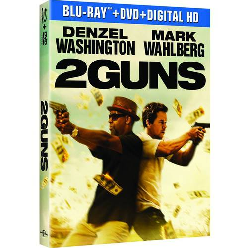 2 Guns (Blu-ray + DVD + Digital HD + Movie Cash) (Widescreen)