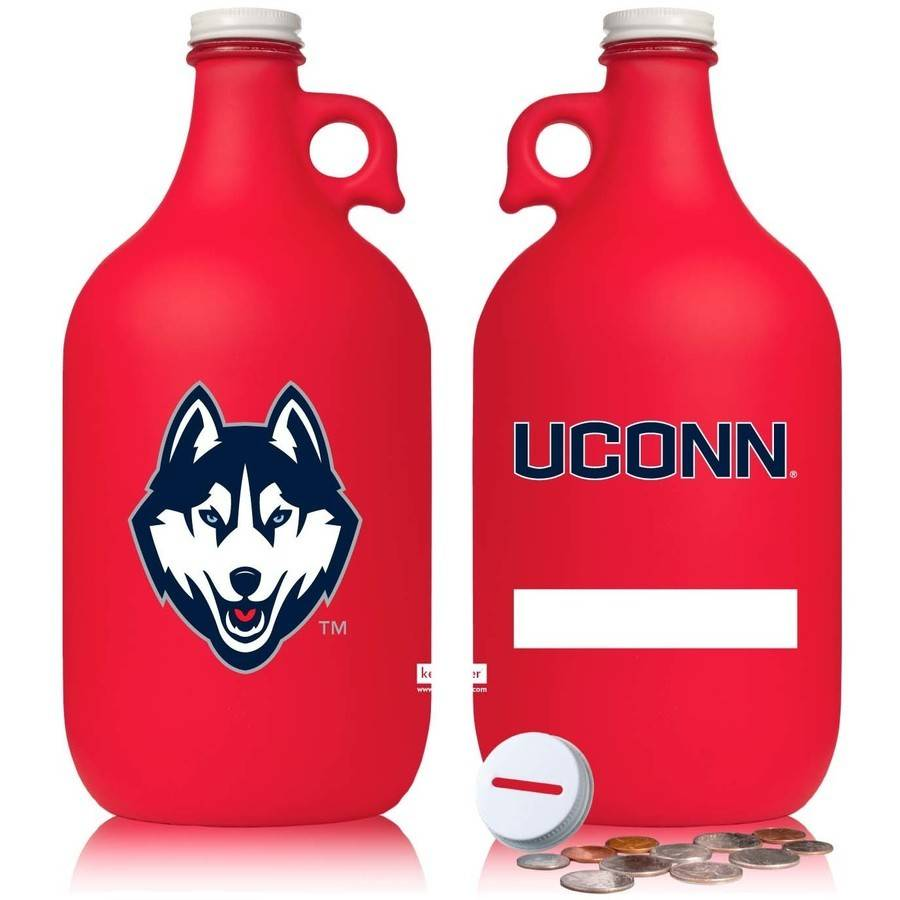 NCAA Uconn Huskies 64 oz Team Color Frost Jug