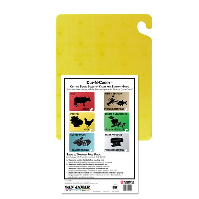"Cut-N-Carry Board Yellow 18"" x 24"""