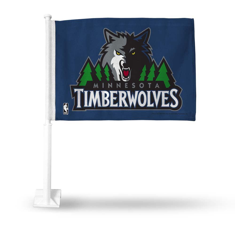 Minnesota Timberwolves Car Flag