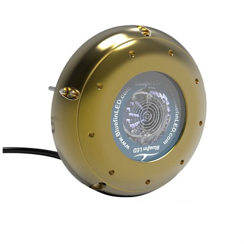 BLUEFIN LED HAMMERHEAD H16 GREEN SURFACE MOUNT UNDERWATER H16-SM-G202