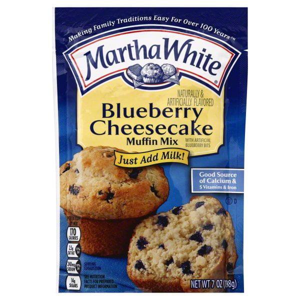 Martha White Blueberry Cheesecake Muffin Mix, 7-Ounce