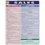 BarCharts 9781423217732 Sales Quickstudy Easel