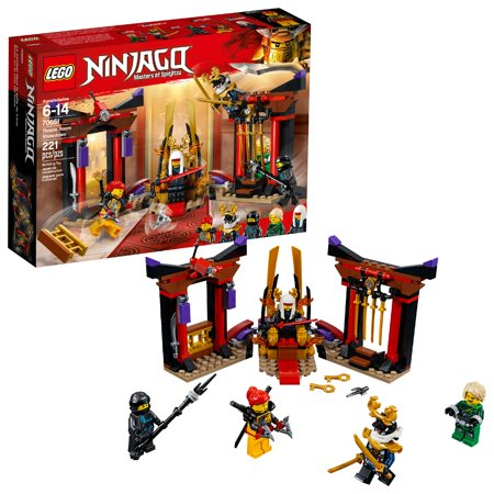 LEGO Ninjago Throne Room Showdown 70651