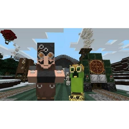 Minecraft: Wii U Edition DLC - Steampunk Texture Pack, Nintendo, WIIU, [Digital Download],
