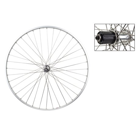 Weinmann AS23X 700c Rear Bike Wheel Silver 8/9/10-Speed ()