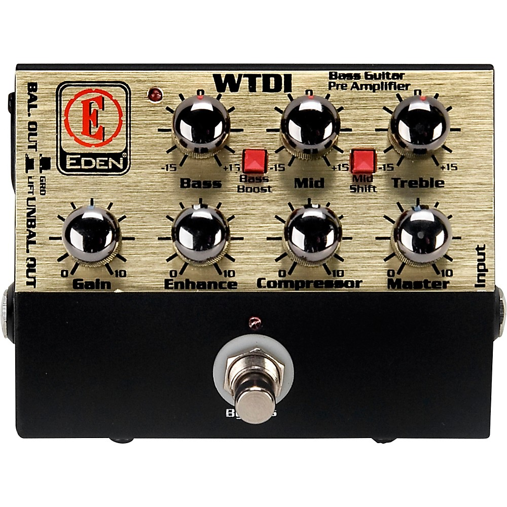 Eden WTDI World Tour Direct Box Preamp by Eden