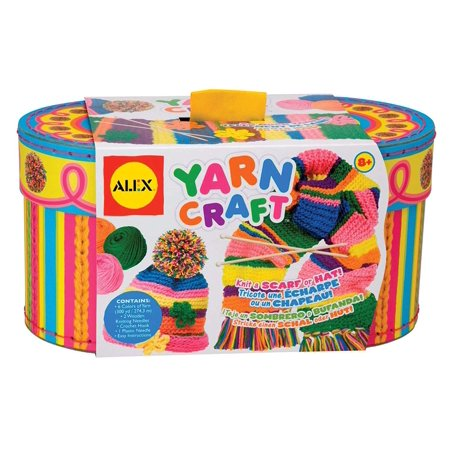 Craft Yarn Craft, Everything you need to learn and start knitting, right away By ALEX Toys](Yarn Crafts)