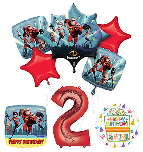 Baseball 2nd Birthday Party Supplies and Balloon Bouquet Decorations