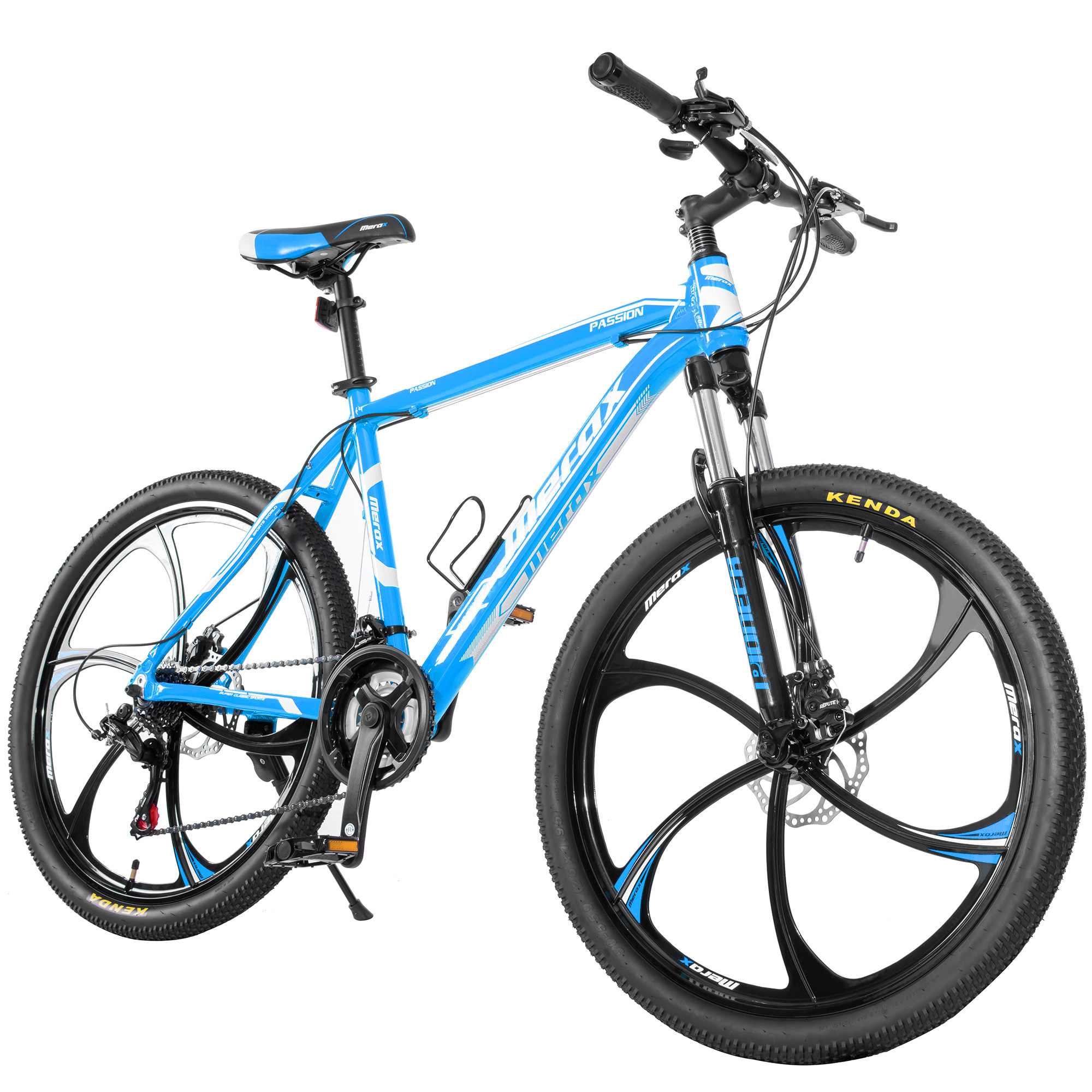 "Merax Finiss 26"" Aluminum 21 Speed Magnesium Alloy Wheel Mountain Bike"