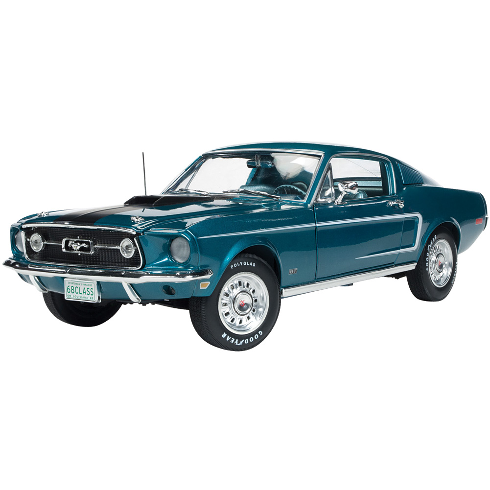 1968 Ford Mustang 50th Anniversary Die Cast & Plastic 1:18 Scale Vehicle by Johnson Smith Co.