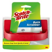 Scotch-Brite Handheld Non-Scratch Soap Scum and Bath Scrubber