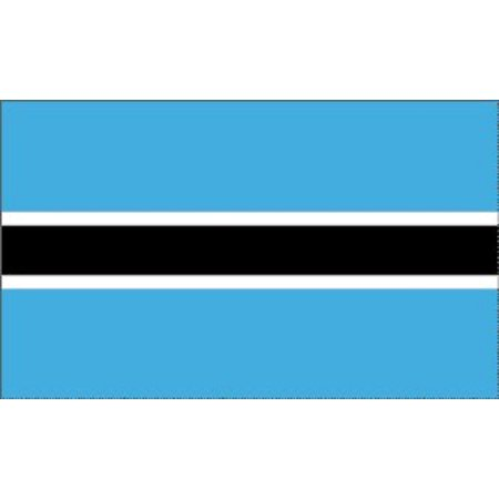 3x5 Botswana Flag African Country Banner Republic Pennant