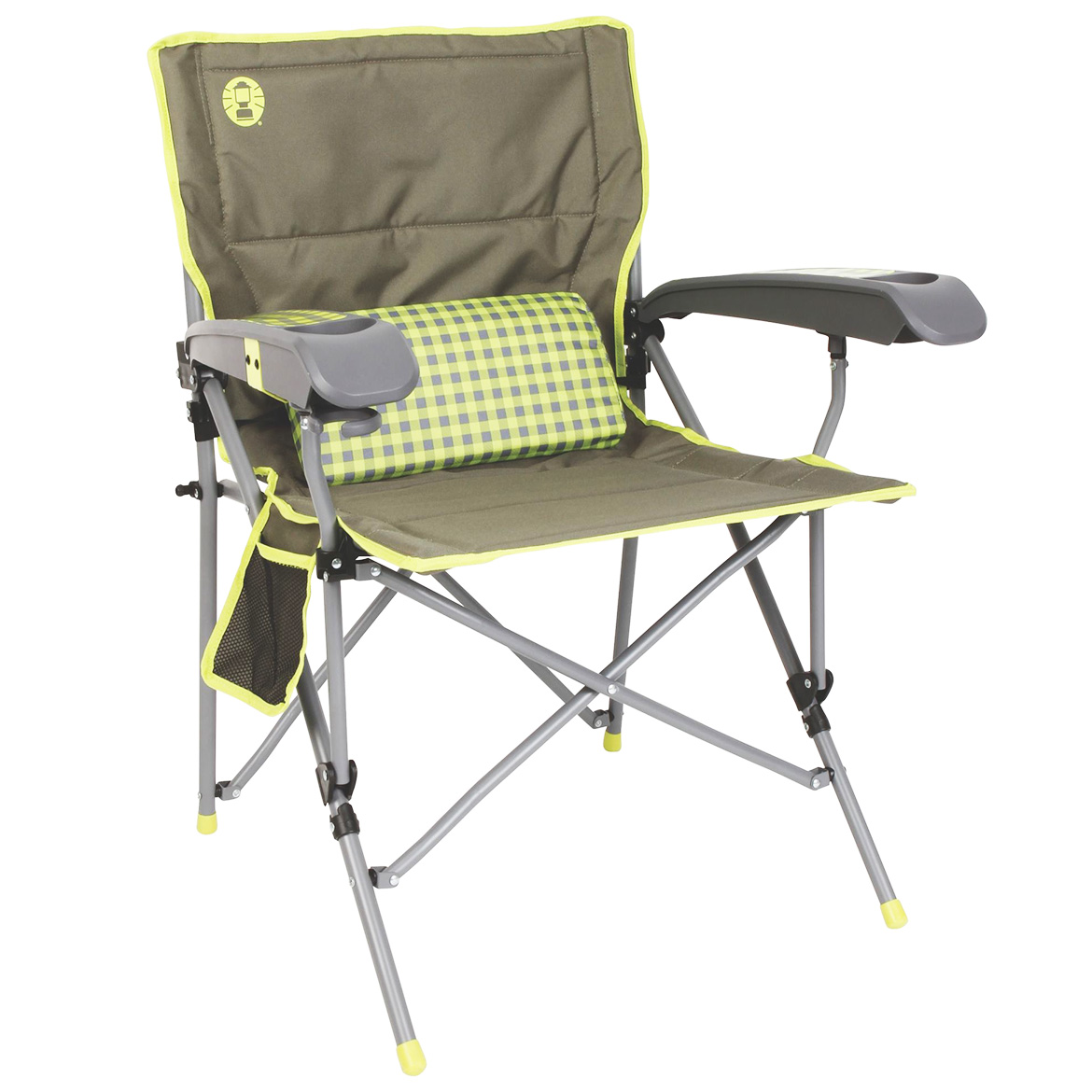 Coleman Vertex Ultra Hard Arm Chair, Best Lime Check